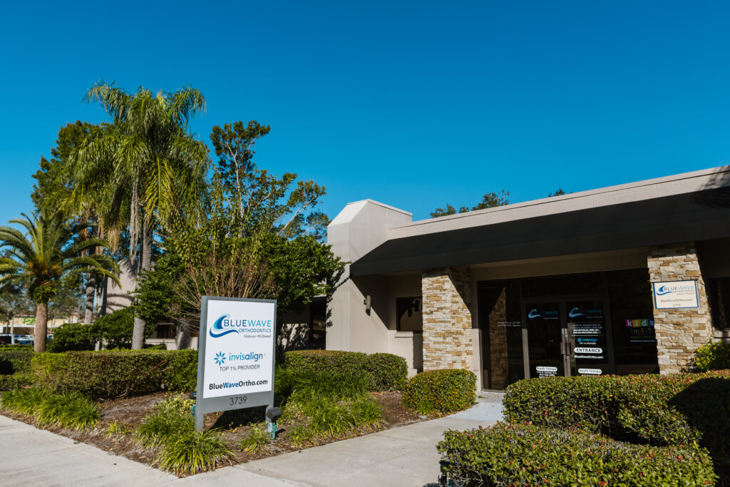 Picture of Blue Wave Orthodontics office in South Tampa.