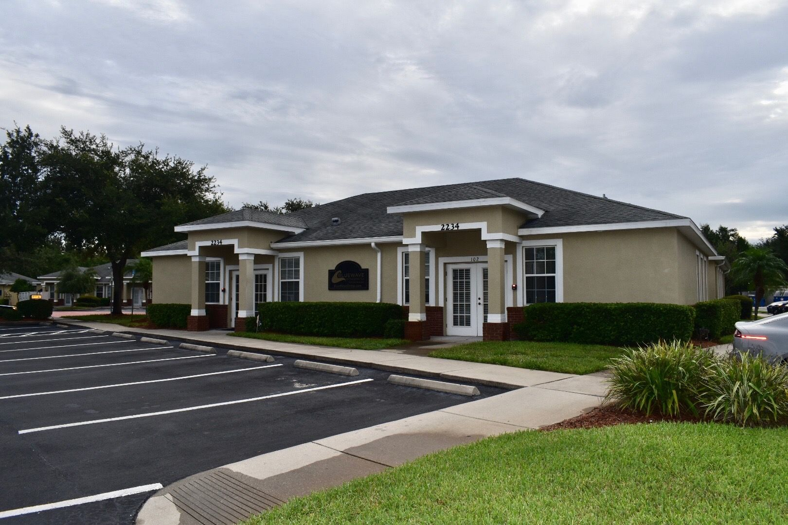 Picture of Blue Wave Orthodontics office in Wesley Chapel office.